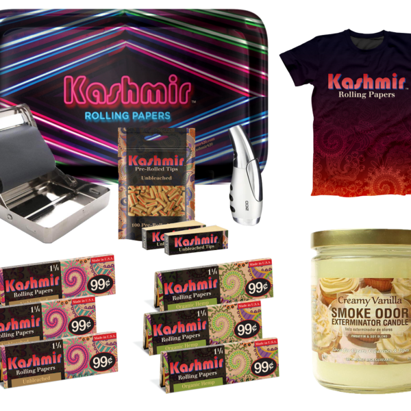 Kashmir Rolling Papers Special Edition Holiday Bundle #2