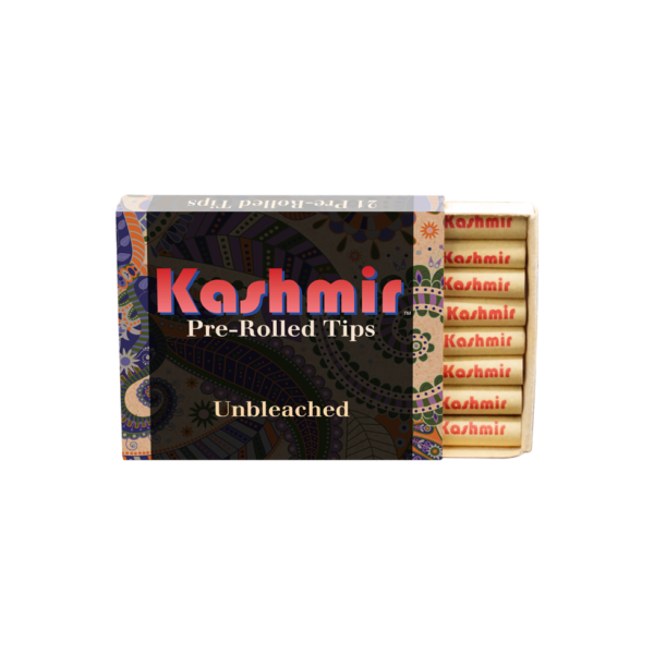 Kashmir Pre-Rolled Unbleached Tips