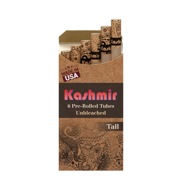 Kashmir Unbleached Pre-Rolled Tubes